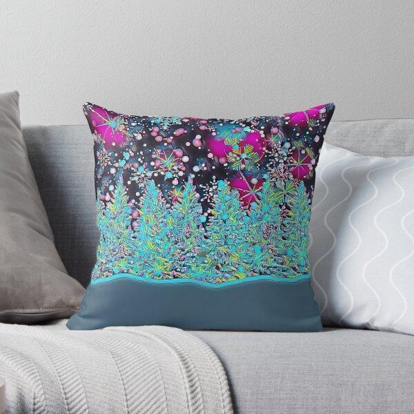 Winter Solstice Magic Throw Pillow