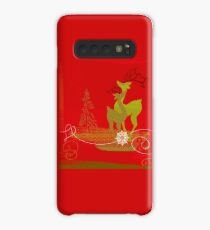 Winter Couple Deer Case/Skin for Samsung Galaxy