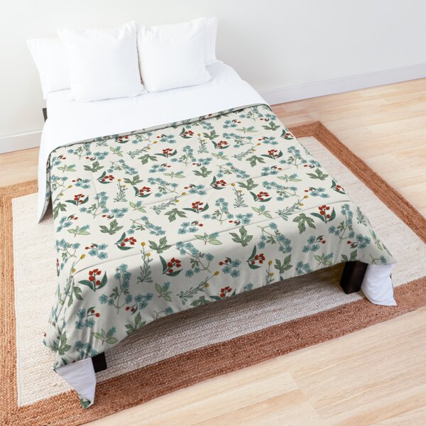 Chintz Wildflower Meadow Pleasant Floral Delights Bouquet Comforter
