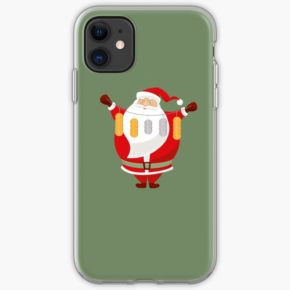 Lucky Santa Claus iPhone Soft Case