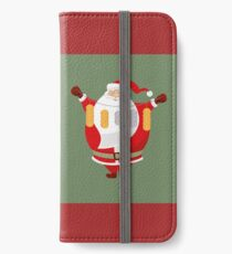 Lucky Santa Claus iPhone Wallet/Case/Skin