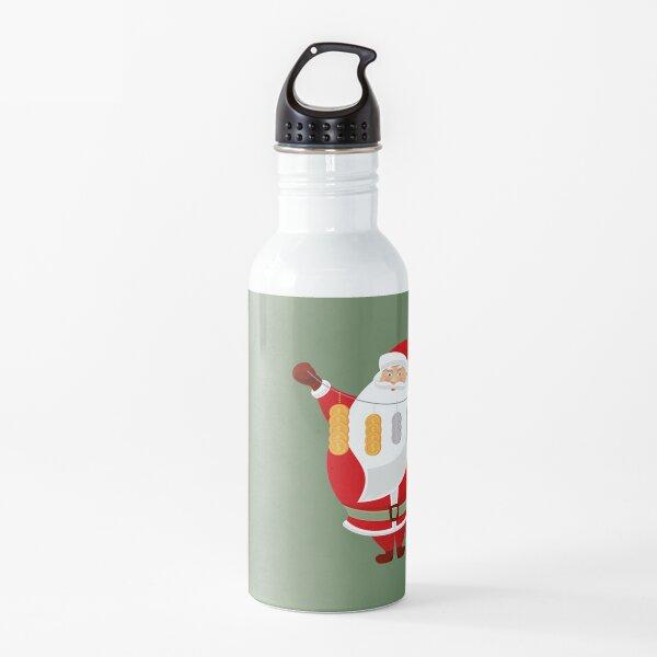 Lucky Santa Claus Water Bottle