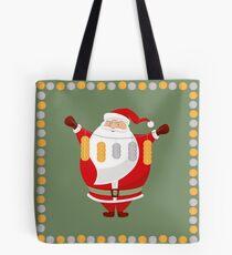 Lucky Santa Claus Tote Bag