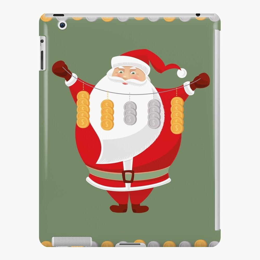 Lucky Santa Claus iPad Snap Case