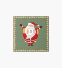 Lucky Santa Claus Art Board Print