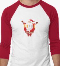 Lucky Santa Claus Baseball ¾ Sleeve T-Shirt