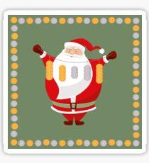 Lucky Santa Claus Sticker
