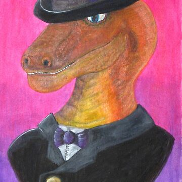 Reginald Gecko ~ Gentleman Theif by Majikcorpse
