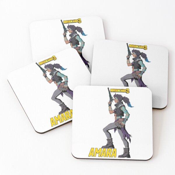 Amara the Siren Coasters (Set of 4)