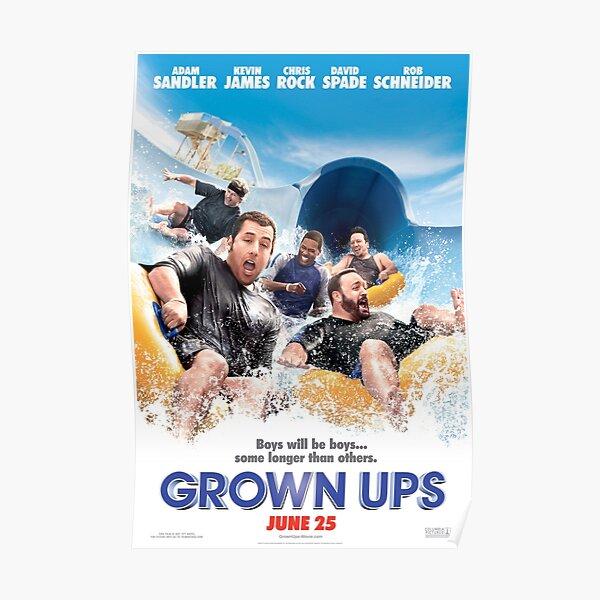 Adam Sandler Grown Ups Shirt Poster