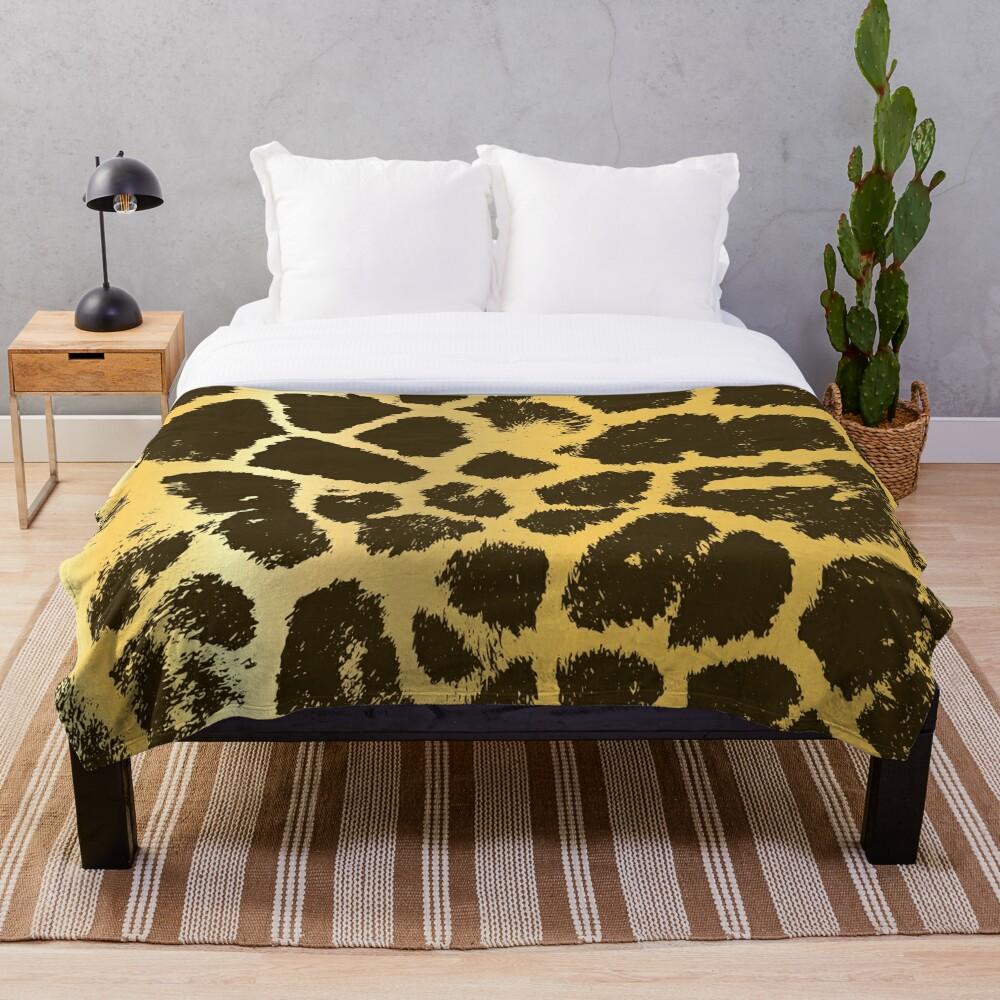 Giraffe Spots Throw Blanket