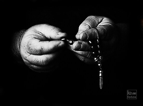A Prayer in the Darkness by Kelvin Hughes