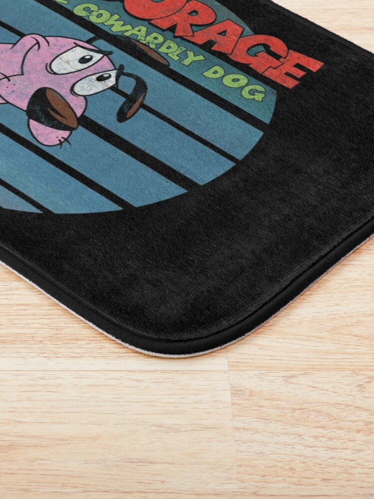 Alternate view of Courage the Cowardly Dog Bath Mat