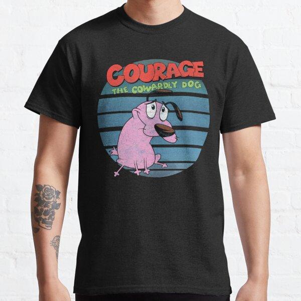 Coraje el perro cobarde Camiseta clásica