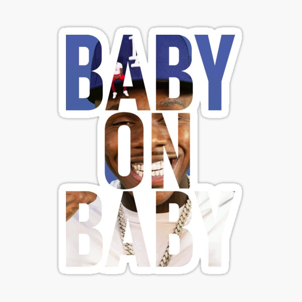 Baby on baby Sticker