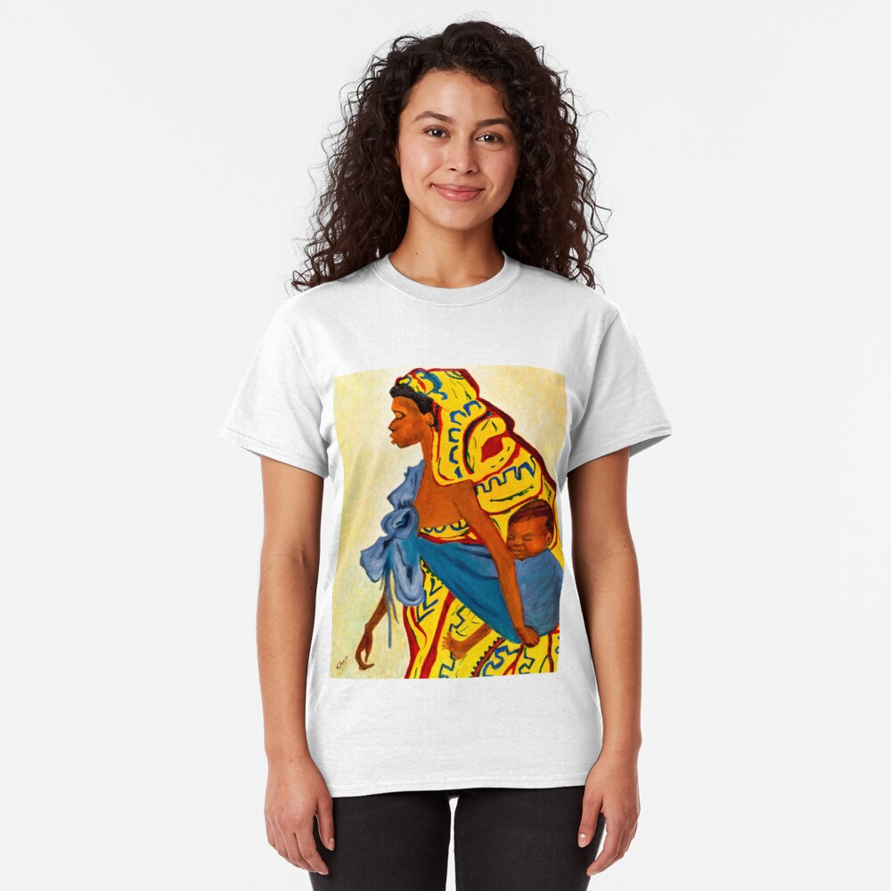 Mama Toto African Mother and Child Classic T-Shirt