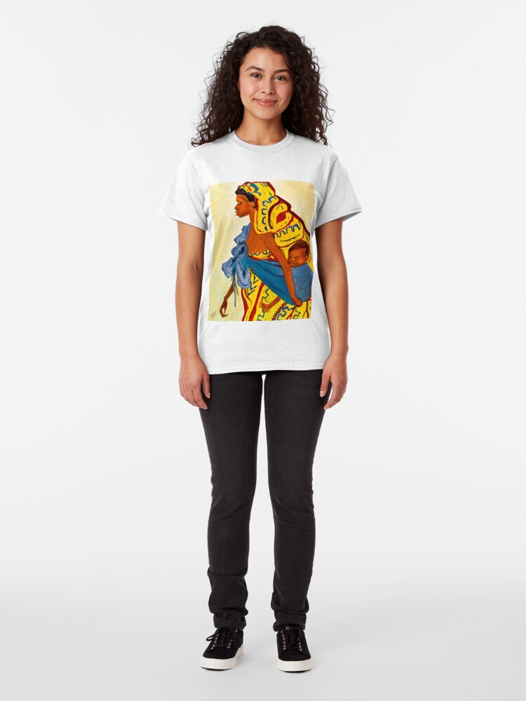 Alternate view of Mama Toto African Mother and Child Classic T-Shirt