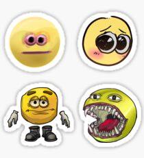 Cursed Emoji Set Sticker