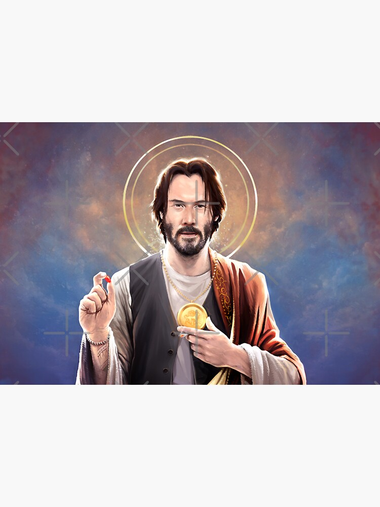 Keanu Reeves - Saint Keanu of Reeves by 6amCrisis