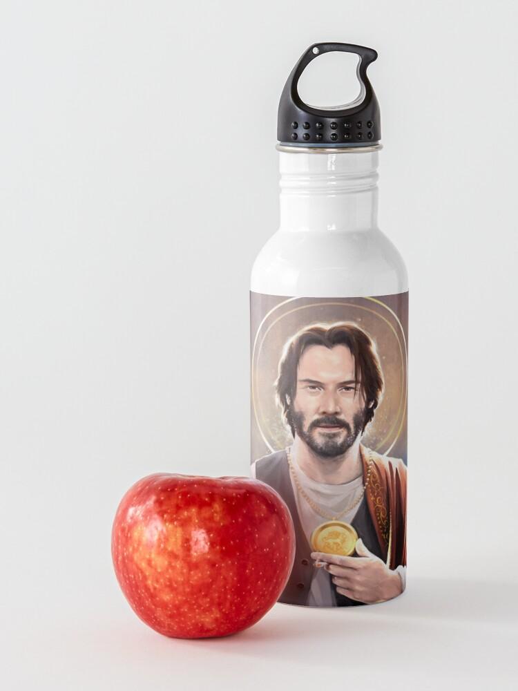 Alternate view of Keanu Reeves - Saint Keanu of Reeves Water Bottle