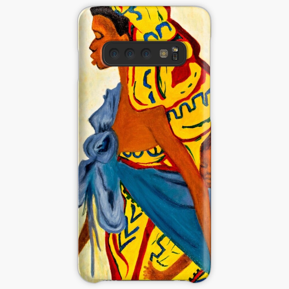 Mama Toto African Mother and Child Samsung Galaxy Snap Case