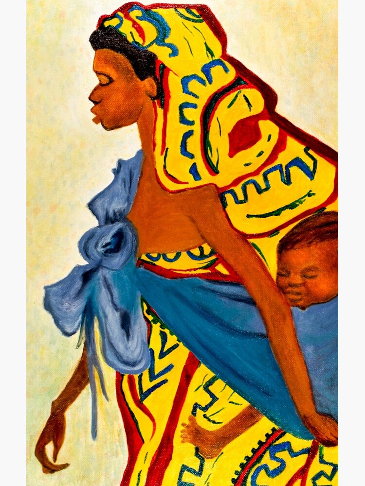 Mama Toto African Mother and Child by shernasser