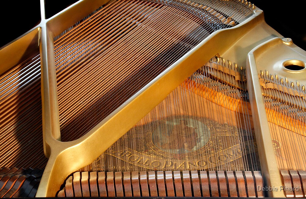 1930's Apollo Baby Grand Piano 4 by Debbie Pinard