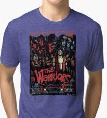 The Warriors Poster Tri-blend T-Shirt