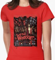 The Warriors Poster Womens Fitted T-Shirt