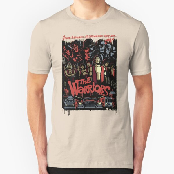 The Warriors Poster Slim Fit T-Shirt