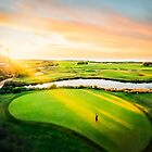 Golfing the Gong - Grand Vista by Ray Warren