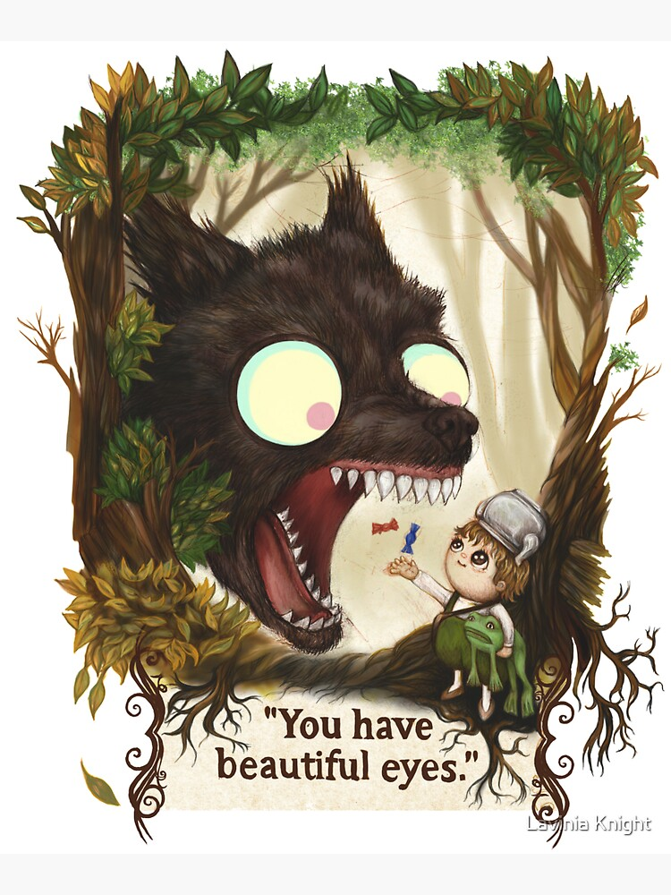 You have beautiful eyes - over the garden wall by LaviniaKnight