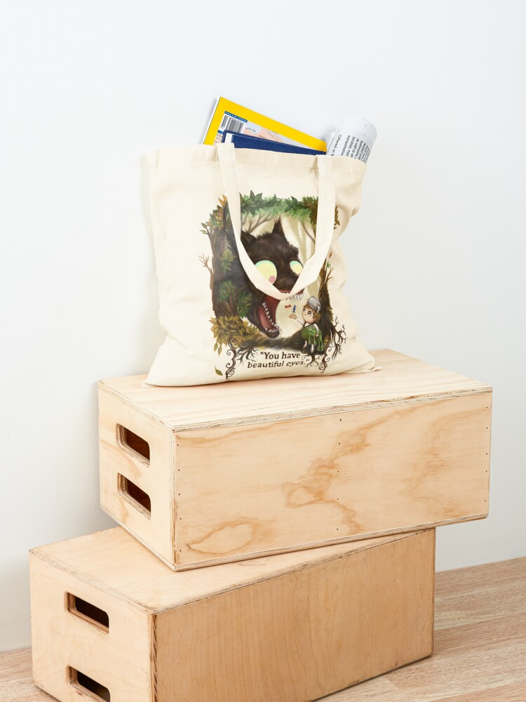 Alternate view of You have beautiful eyes - over the garden wall Tote Bag