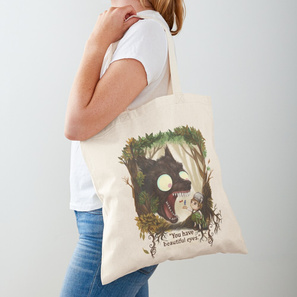 You have beautiful eyes - over the garden wall Tote Bag