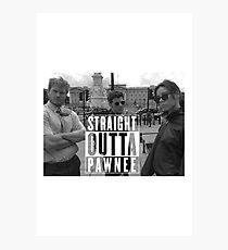 Straight Outta Pawnee Photographic Print