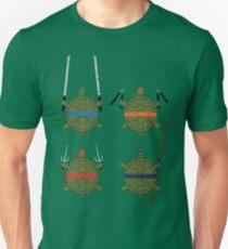 Undefined Age Martial Artist Tortoises Unisex T-Shirt