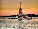 Maiden's Tower - HDR by Kutay Photography