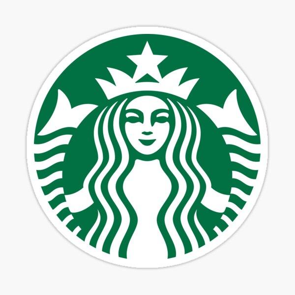 Logotipo de Starbucks Pegatina