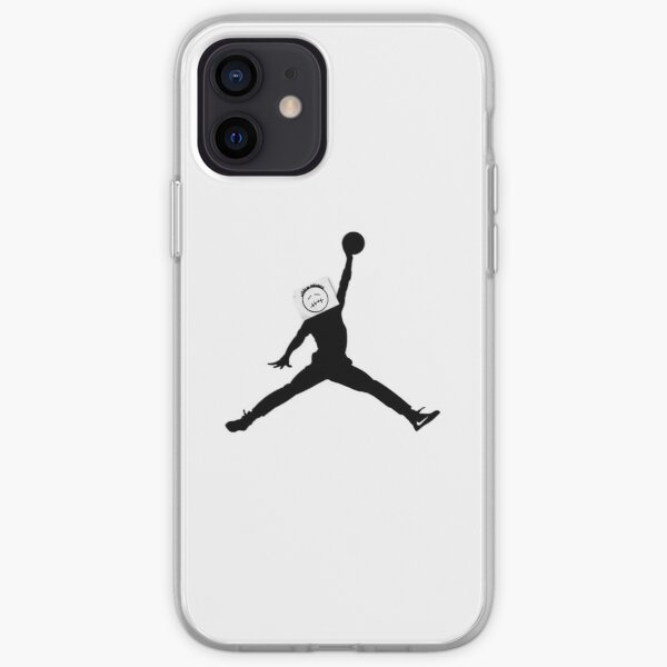 Jump Man Sticker Cactus Jack Coque souple iPhone