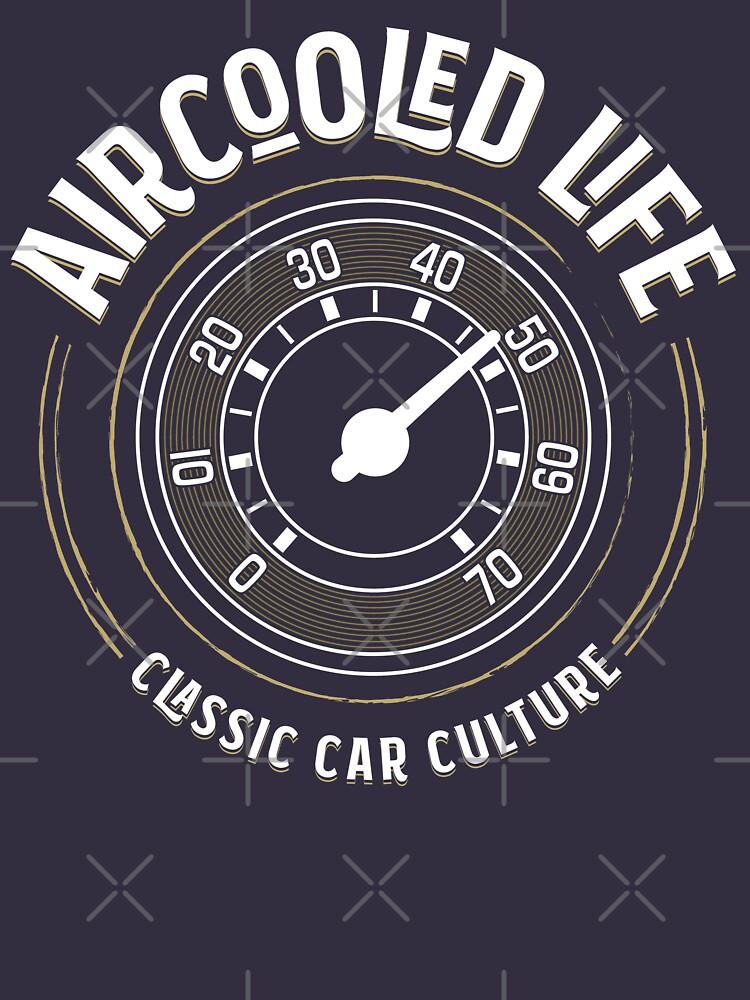 Aircooled Life - Speedometer Gauge Classic Car Culture by Joemungus