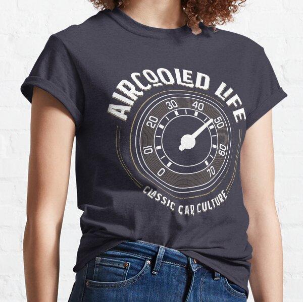 Aircooled Life - Speedometer Gauge Classic Car Culture Classic T-Shirt