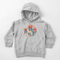 Protea Chintz - Navy Toddler Pullover Hoodie
