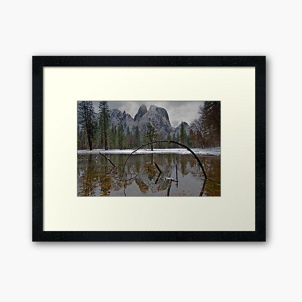 Reflecting Pond Framed Art Print