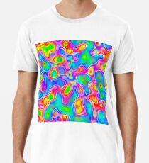 Random virtual color pixel abstraction Premium T-Shirt