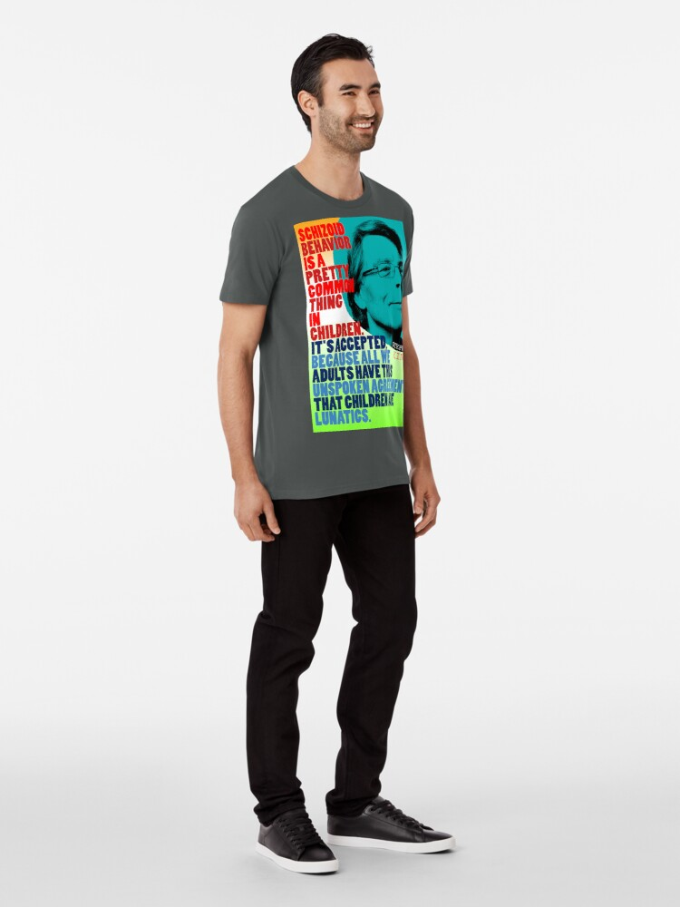 Alternate view of Stephen King Quote Premium T-Shirt