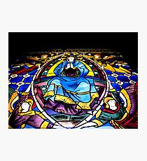 Stained Glass Painting Photographic Print