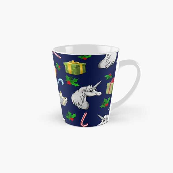 Christmas Time - Unicorn gifts and candy cane dreams  Tall Mug