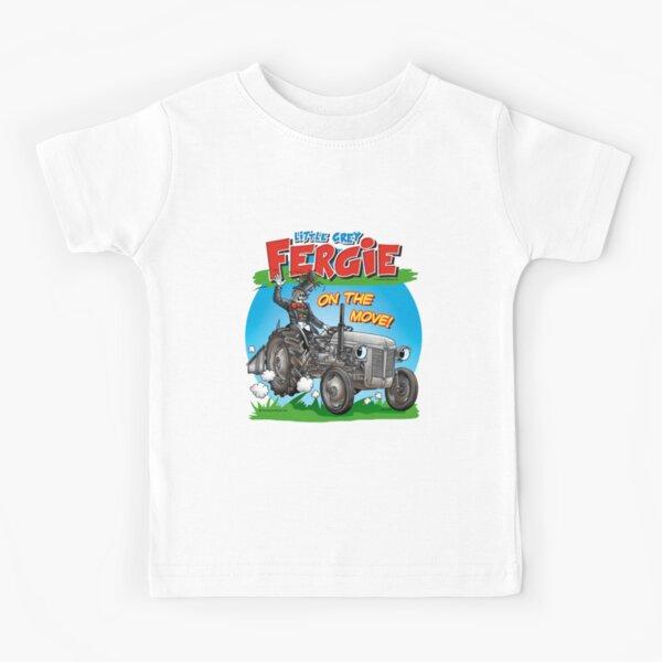 La petite Grey Fergie en mouvement! T-shirt enfant