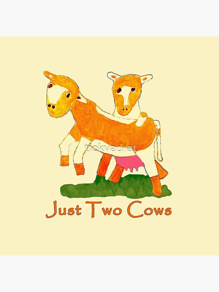 Just Two Cows by tiokvadrat