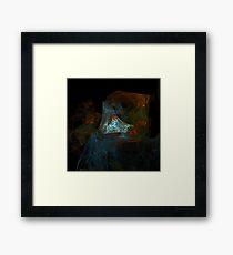 Puzzle Man Framed Print